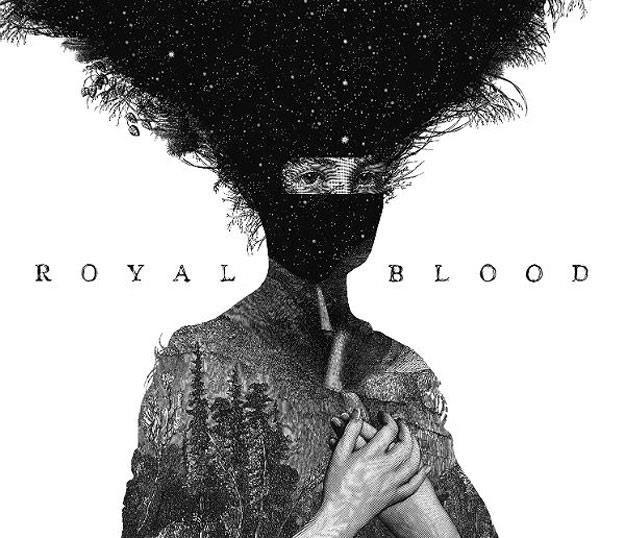 Okładka debiutanckiej płyty Royal Blood /