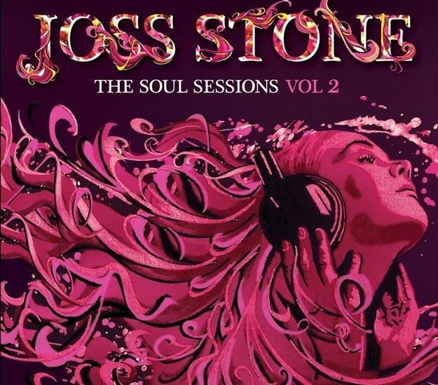 Okładka drugiej odsłony soulowych coverów Joss Stone /