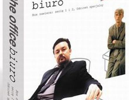 """Okładka dvd brytyjskiej wersji """"Biura"""" /"""