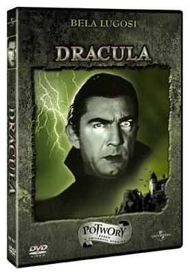 """Okładka DVD """"Draculi"""" - wersja z roku 1931 /"""