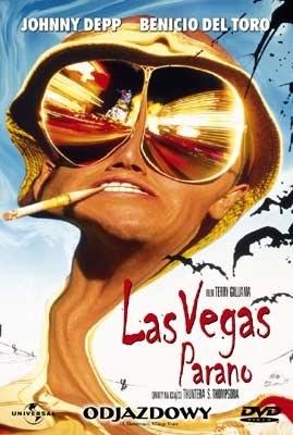 """Okładka DVD filmu """"Las Vegas Parano"""" /"""