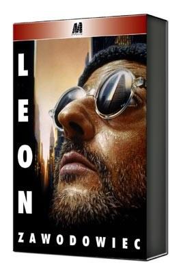 """Okładka DVD filmu """"Leon Zawodowiec"""" /"""