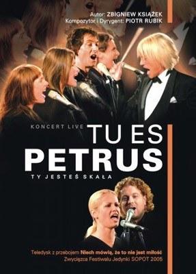 """Okładka DVD """"Tu es Petrus"""" /"""