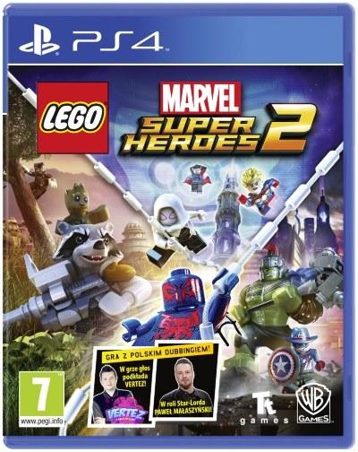 Okładka gry LEGO Marvel Super Heroes 2 /materiały prasowe