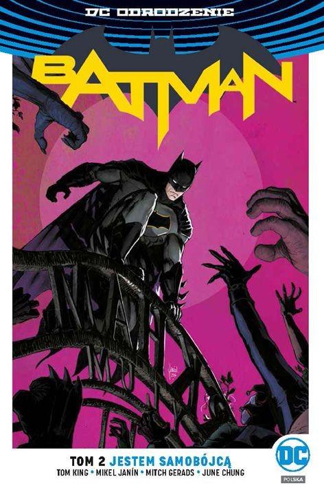 """Okładka komiksu """"Batman - Jestem samobójcą"""" /materiały prasowe"""