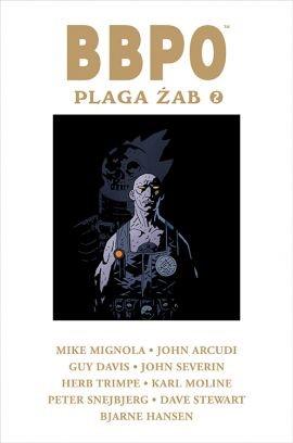"""Okładka komiksu """"BBPO. Plaga żab 2"""" /materiały prasowe"""