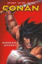 """Okładka komiksu """"Conan - Narodziny legendy, tom 1"""" /materiały prasowe"""