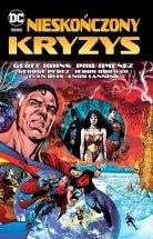 """Okładka komiksu """"DC Deluxe - Nieskończony kryzys"""" /materiały prasowe"""
