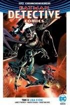 """Okładka komiksu """"DC Odrodzenie. Batman - Detective Comics - Liga Cieni, tom 3"""" /materiały prasowe"""