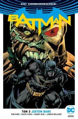 """Okładka komiksu """"DC Odrodzenie. Batman - Jestem Bane, tom 3"""" /materiały prasowe"""