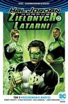 """Okładka komiksu """"DC Odrodzenie. Hal Jordan i Korpus Zielonych Latarni - Poszukiwanie nadziei, tom 3"""" /materiały prasowe"""