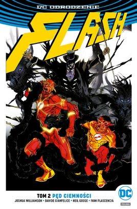 """Okładka komiksu """"Flash - Pęd ciemności"""" /materiały prasowe"""