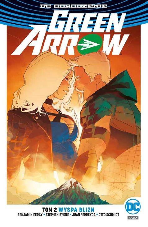 """Okładka komiksu """"Green Arrow - Wyspa Blizn"""" /materiały prasowe"""