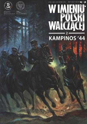 "Okładka komiksu ""Kampinos '44"" /IPN"