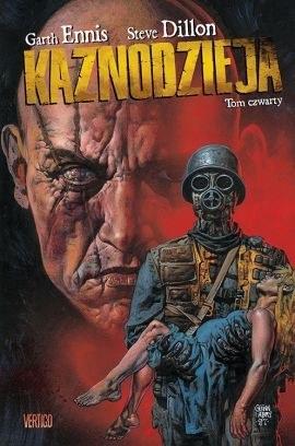 """Okładka komiksu """"Kaznodzieja, tom 4"""" /materiały prasowe"""
