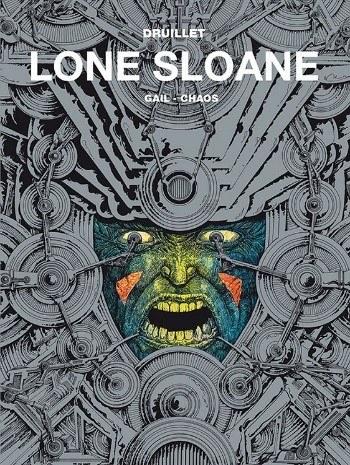 """Okładka komiksu """"Lone Sloane 2"""" /materiały prasowe"""
