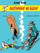 """Okładka komiksu """"Lucky Luke - Daltonowie na ślubie, tom 62"""" /materiały prasowe"""