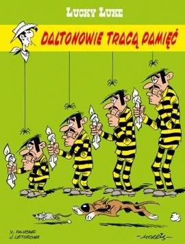 """Okładka komiksu """"Lucky Luke. Daltonowie tracą pamięć"""" /materiały prasowe"""