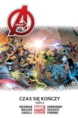 """Okładka komiksu """"Marvel Now. Avengers - Czas się kończy, tom 2"""" /materiały prasowe"""