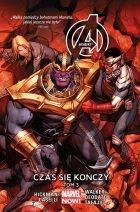 """Okładka komiksu """"Marvel Now. Avengers - Czas się kończy, tom 3"""" /materiały prasowe"""