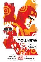 """Okładka komiksu """"Marvel Now. Hawkeye - Rio Bravo, tom 4"""" /materiały prasowe"""