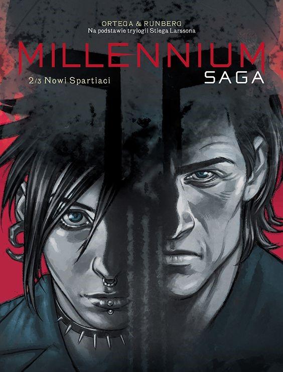 "Okładka komiksu ""Millenium. Saga - Nowi spartiaci"" /materiały prasowe"