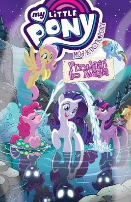 """Okładka komiksu """"Mój Kucyk Pony. Przyjaźń to magia, tom 11"""" /materiały prasowe"""