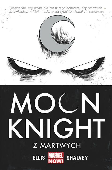 """Okładka komiksu """"Moon Knight - Z martwych"""" /materiały prasowe"""
