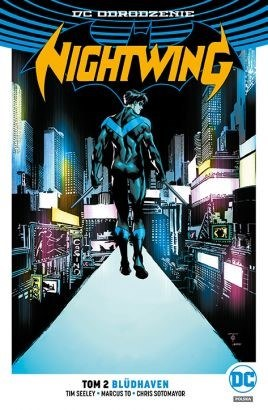 "Okładka komiksu ""Nightwing. Blüdhaven, tom 2"" /materiały prasowe"