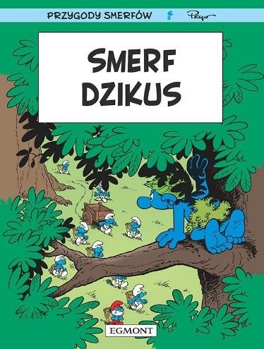 """Okładka komiksu """"Smerf Dzikus"""" /materiały prasowe"""