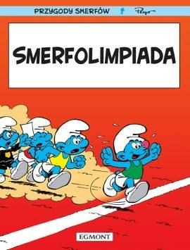 """Okładka komiksu """"Smerfolimpiada"""" /materiały prasowe"""