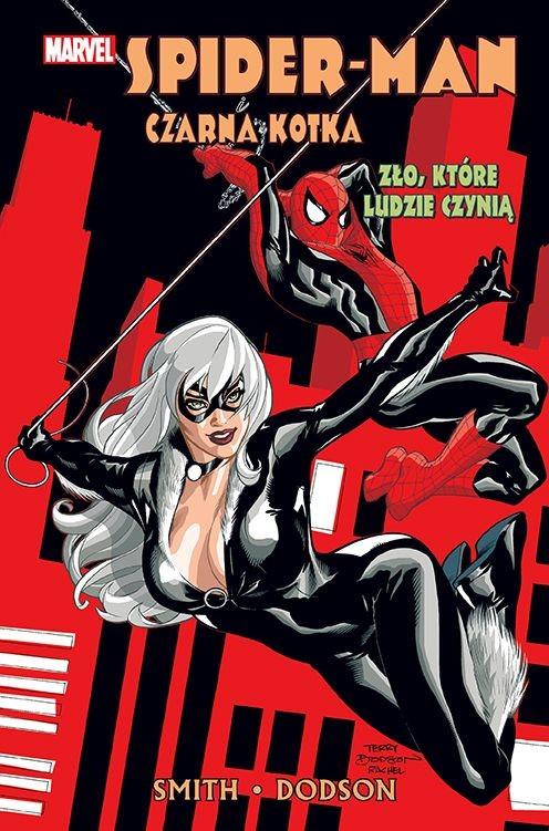"""Okładka komiksu """"Spider-Man i Czarna Kotka: Zło, które ludzie czynią"""" /materiały prasowe"""