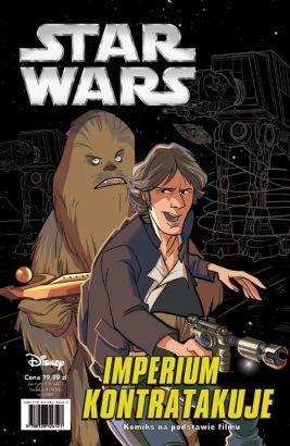 """Okładka komiksu """"Star Wars - Imperium kontratakuje (Epizod V)"""" /materiały prasowe"""