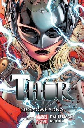 """Okładka komiksu """"Thor - Gromowładna"""" /materiały prasowe"""