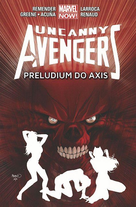 """Okładka komiksu """"Uncanny Avengers - Preludium do Axis"""" /materiały prasowe"""