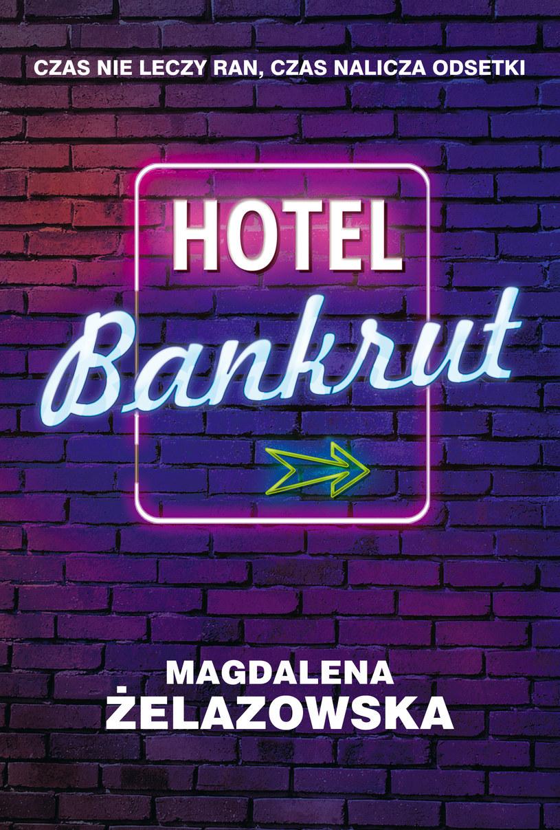 """Okładka ksiąki """"Hotel Bankrut"""" /materiały prasowe"""