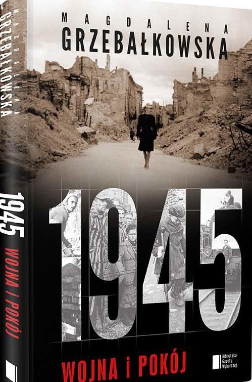 """Okładka książki """"1945. Wojna i pokój"""" /materiały prasowe"""