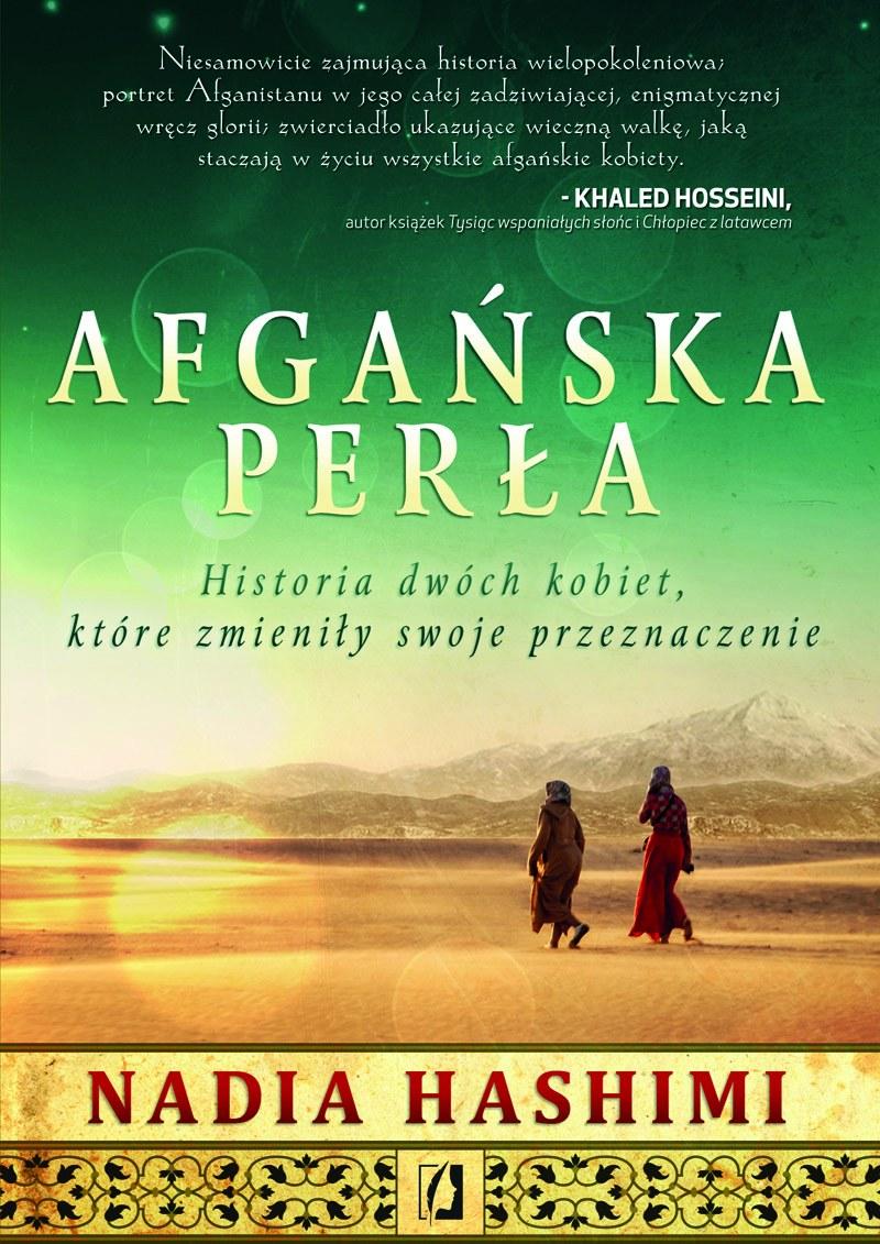 """Okładka książki """"Afgańska perła"""" /materiały prasowe"""