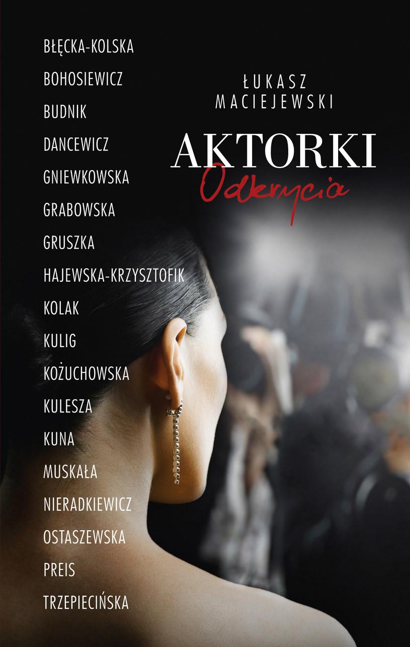 """Okładka książki """"Aktorki. Odkrycia"""" /materiały prasowe"""