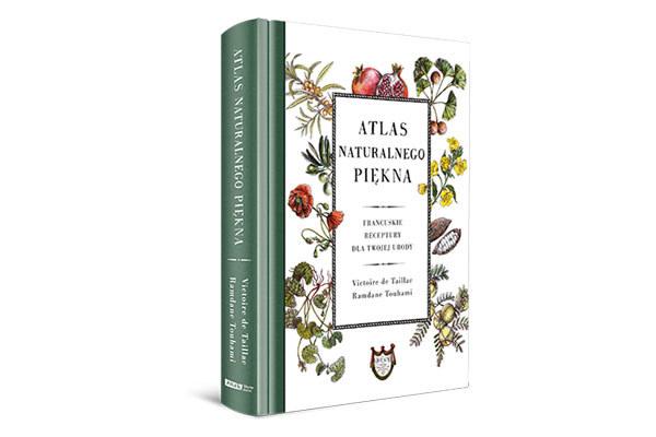 "Okładka książki ""Altas naturalnego piękna"" /materiały prasowe"