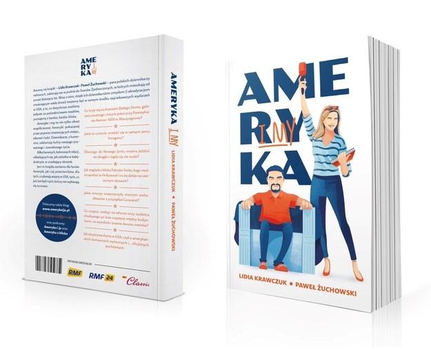 """Okładka książki """"Ameryka i my"""" /Materiały prasowe"""