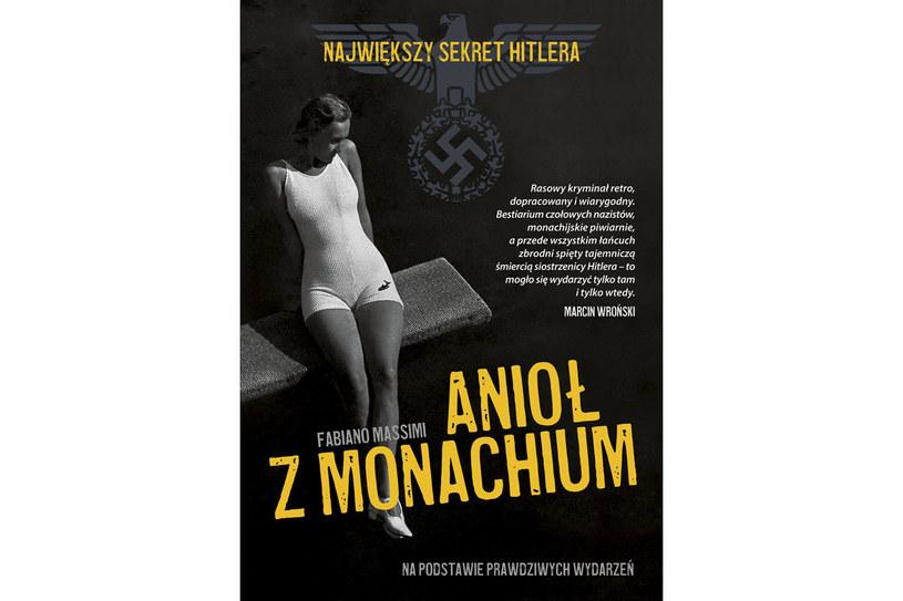"""Okładka książki """"Anioł z Monachium"""" /materiały prasowe"""