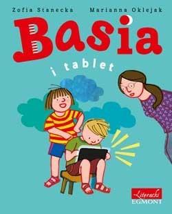 """Okładka książki """"Basia i tablet"""" /materiały prasowe"""