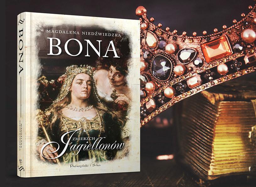 """Okładka książki """"Bona"""" /Ciekawostki Historyczne"""
