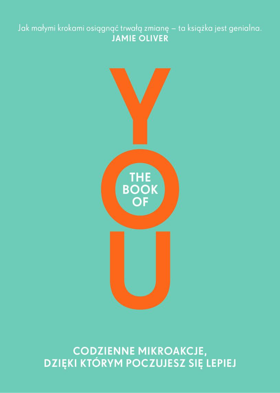 """Okładka książki """"Book of YOU"""" /materiały prasowe"""