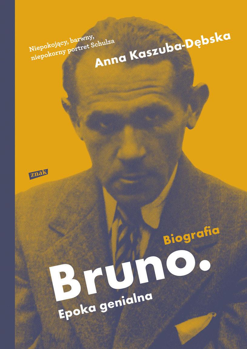 """Okładka książki """"Bruno. Epoka genialna"""" Anny Kaszuby-Dębskiej /materiały prasowe"""