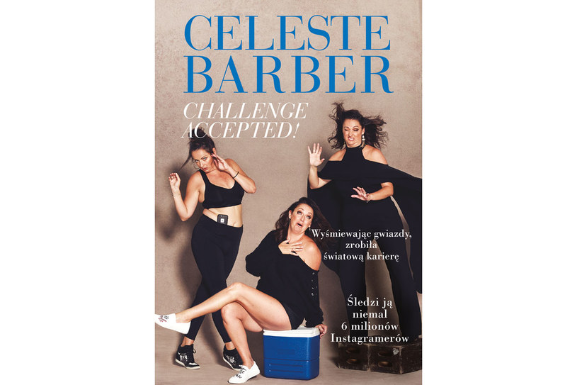 "Okładka książki Celeste Barber ""Challenge Accepted"" /materiały prasowe"