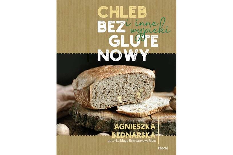 """Okładka książki  """"Chleb bezglutenowy i inne wypieki"""" /materiały prasowe"""