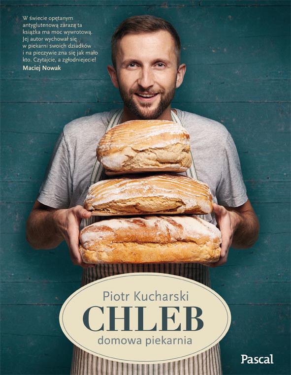 """Okładka książki """"Chleb. Domowa piekarnia"""" /materiały prasowe"""