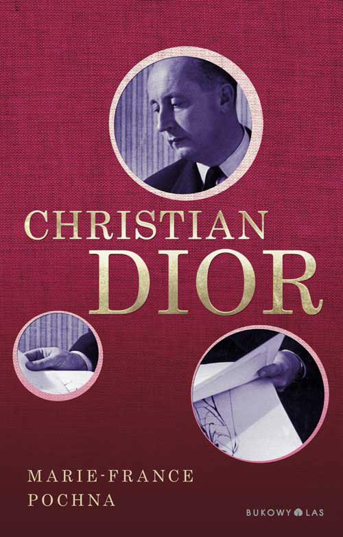 """Okładka książki """"Christian Dior"""" /materiały prasowe"""